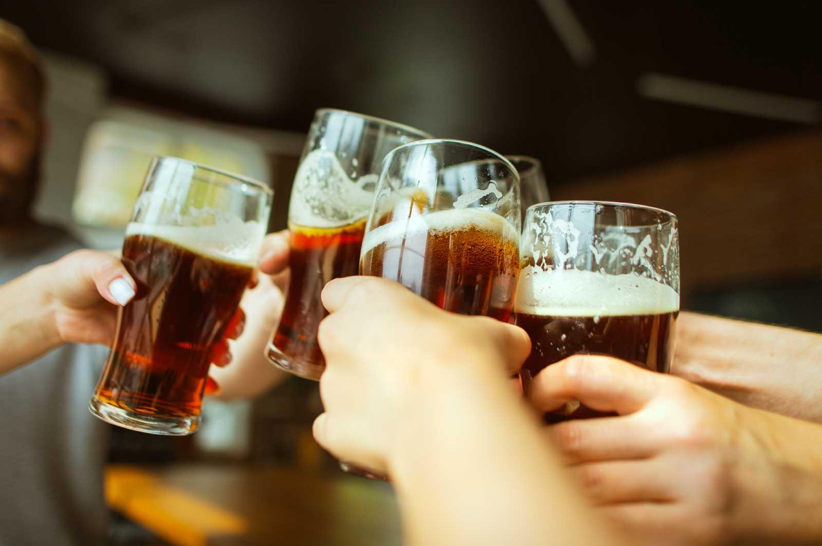カブトビールで乾杯