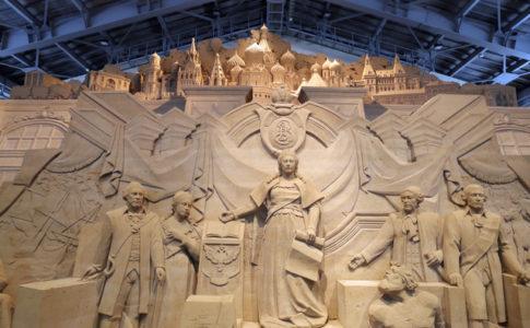 砂の美術館(鳥取)