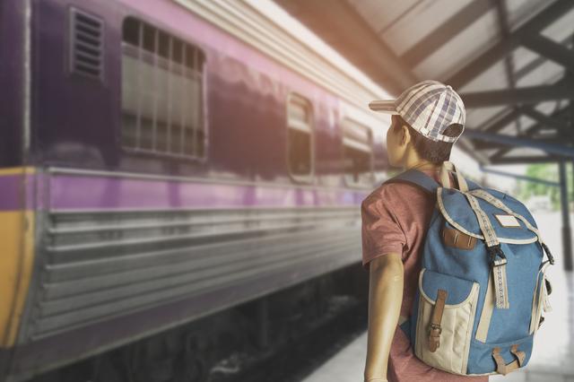 電車を使って一人旅