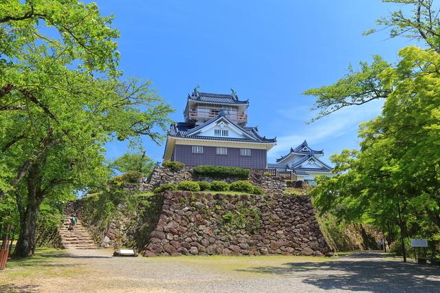 夏の越前大野城(福井)