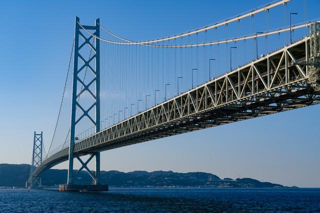 兵庫県に架かる大鳴門橋