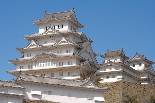 """別名""""白鷺城""""と言われる姫路城"""