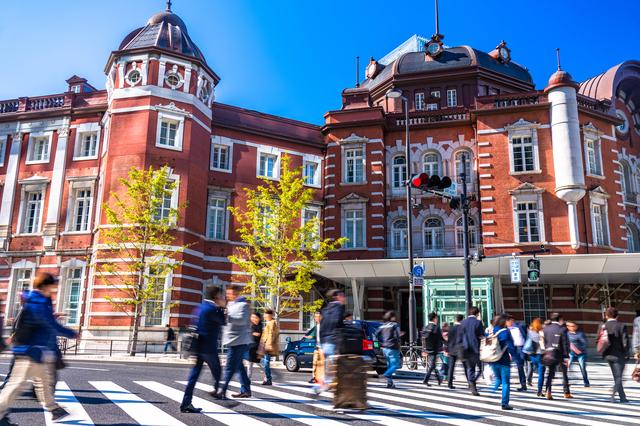 東京駅・丸の内のビジネス街